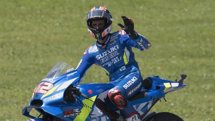 Alex Rins finis keempat di Mugello. (Foto: Mirco Lazzari/Getty Images)