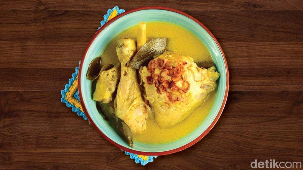 5 Tips Kontrol Nafsu Makan Usai Terbawa Kalap Makan Opor Ayam