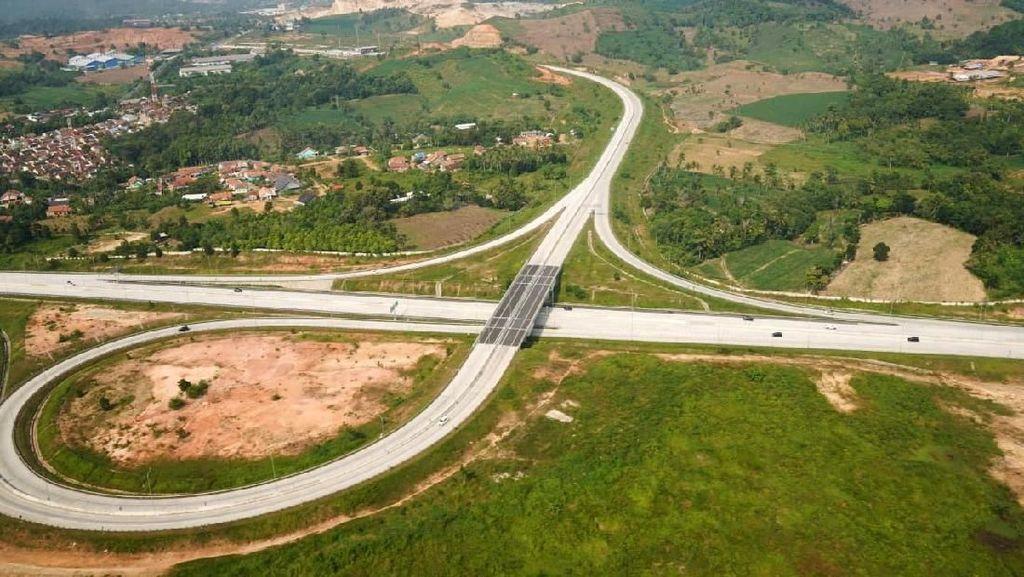 Melihat dari Udara Kondisi Trans Sumatera yang Dipakai Mudik