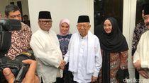 Maruf Amin Buka Puasa Bersama di Rumah OSO