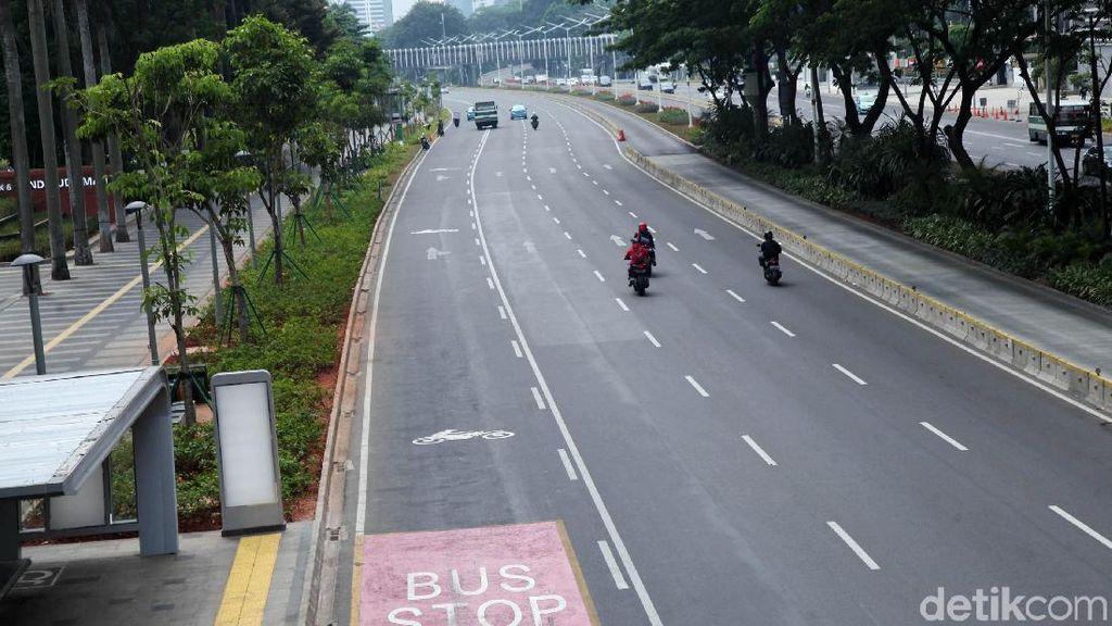 Jalanan Jakarta Paling Bersahabat saat Libur Lebaran