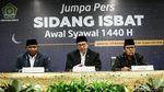 Pemerintah Tetapkan Lebaran Pada 5 Juni