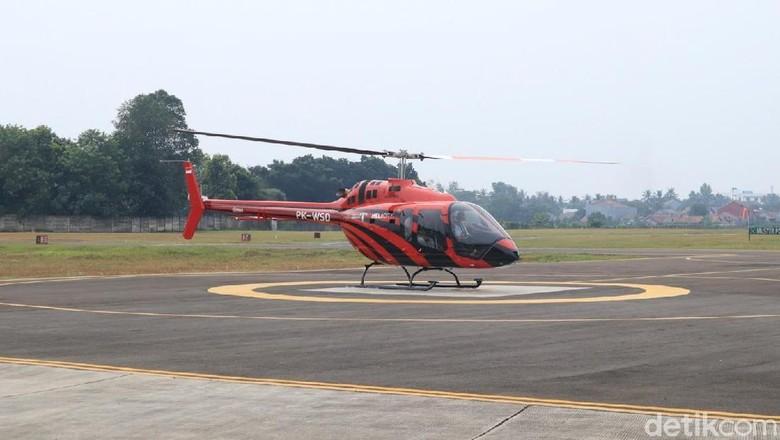 Salah satu armada Whitesky Aviation (Randy/detikcom)