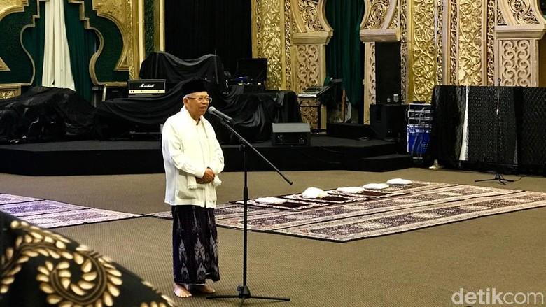 Maruf Amin soal Pilpres: Menangnya Masih Digantung, Tunggu Keputusan MK