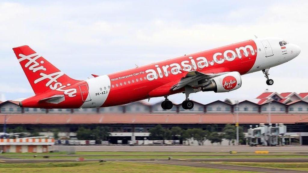 Maskapai Babak Belur di 2018, AirAsia Rugi Rp 1 T