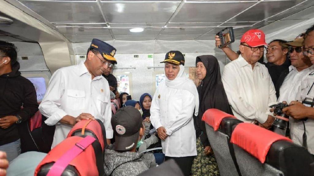 Pastikan Arus Mudik ke Madura Lancar, Menhub Tambah 5 Kapal Perintis