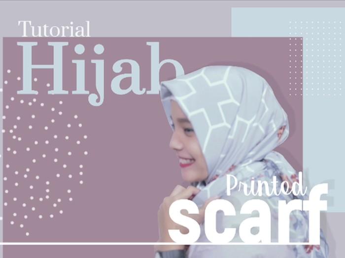 Tutorial hijab untuk Lebaran 2019. (Foto: detikcom)