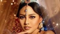 Ia tampil seperti Putri Jasmine dalam film Aladdin. Foto: FD Photography/ Istimewa