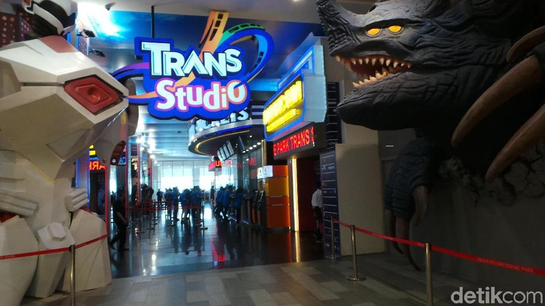 Trans Studio Cibubur. (Foto: Wahyu/detikcom)