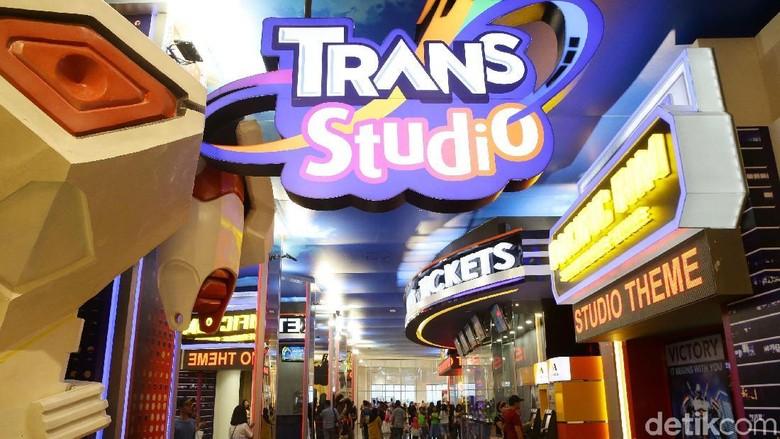 Trans Studio Cibubur (Grandyos Zafna/detikcom)
