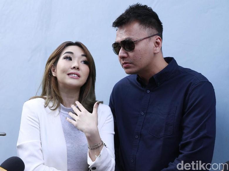 Foto: Gisel dan Wijin (Palevi/ detikHOT)