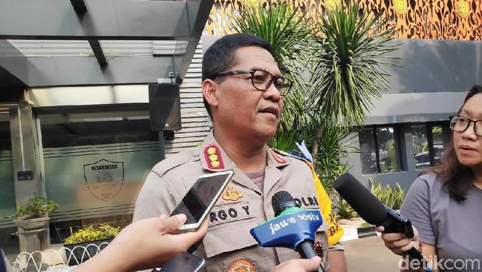 Kabid Humas Polda Metro Jaya Kombes Argo Yuwono. (Alfons/detikcom)