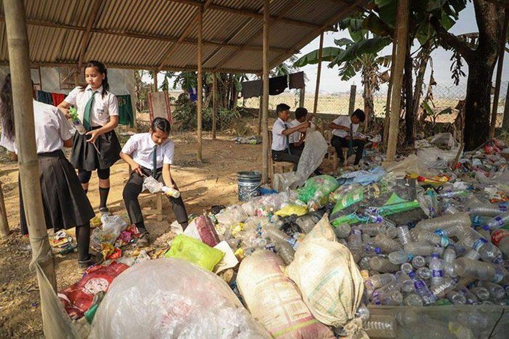 Berawal dari hal inilah, Akshar Foundation tergerak mendorong para warga untuk melakukan daur ulang sampah. (Foto: Dok. Akshar Foundation)