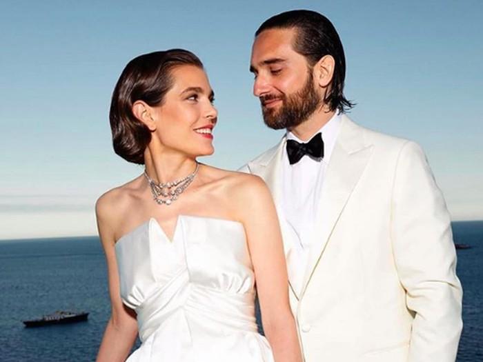 Charlotte Casiraghi dan Dimitri Rassam. (Foto: Ist.)