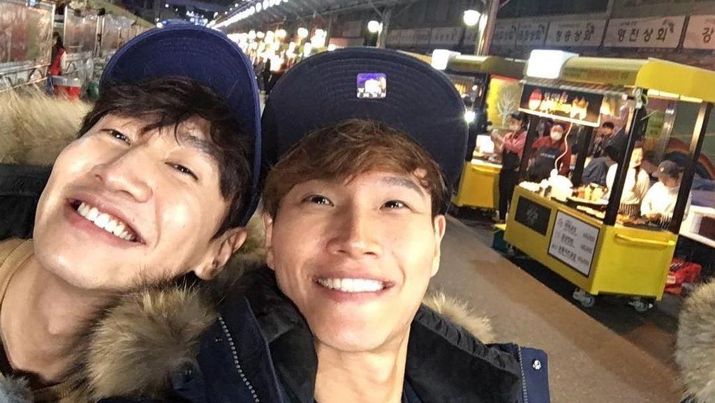Serunya Kulineran ala Lee Kwang Soo dan Kim Jong Kook Running Man