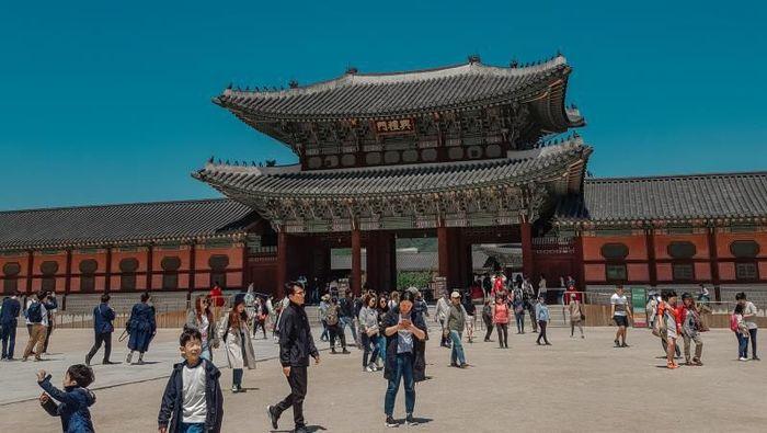 Istana Gyeongbok di Korea SelatanFoto: (Misbahul Ulum/dTraveler)