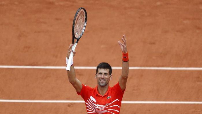 Novak Djokovic sampai di babak perempatfinal Prancis Terbuka. (Foto: Vincent Kessler/Reuters)