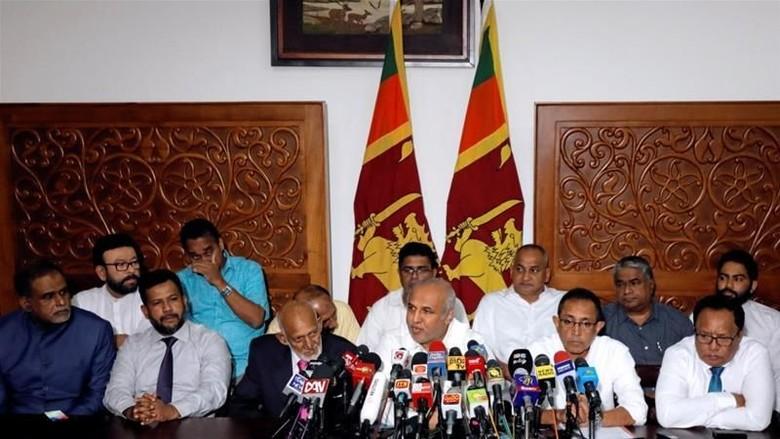 Buntut Bom Paskah, Seluruh Menteri Muslim Sri Lanka Mundur