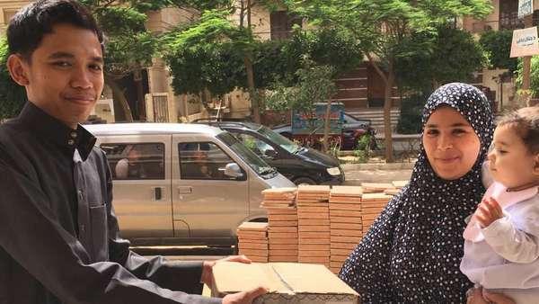 Alhamdulillah, Donasi Umat Islam Indonesia Sampai ke Mesir