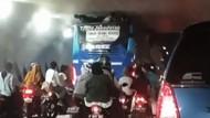 Viral Gerombolan Bocah Terjepit karena Naik di Atas Bus TransJabodetabek, Ini Kata Polisi