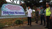Apresiasi Warga untuk TNI Polri Lewat Karangan Bunga di Suramadu