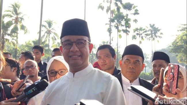 Gubernur DKI Anies Baswedan. Foto: Farih Maulana/detikcom