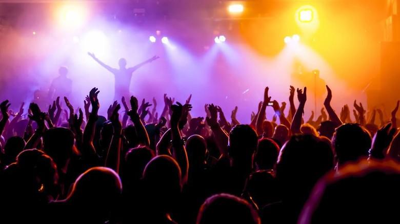 Ilustrasi konser musik. Foto: shutterstock