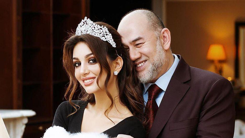 Selamat, Ratu Kecantikan Rusia yang Nikahi Mantan Raja Malaysia Sudah Lahiran