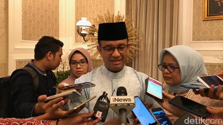 DPRD DKI Usul Hak Interpelasi, Anies Yakin IMB Reklamasi Sesuai Prosedur