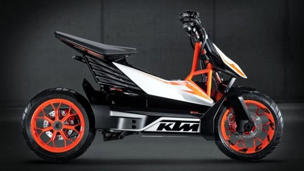 Bajaj dan KTM Kerjasama Bikin Skuter Listrik