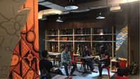 bumn hadirkan rumah kreatif di pelabuhan merak bandara. Black Bedroom Furniture Sets. Home Design Ideas