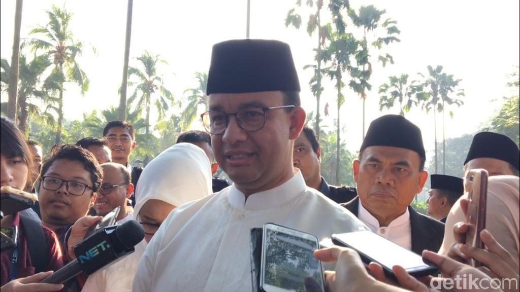 Anies: Pasokan Pangan di Jakarta Aman, Harga Mayoritas Turun