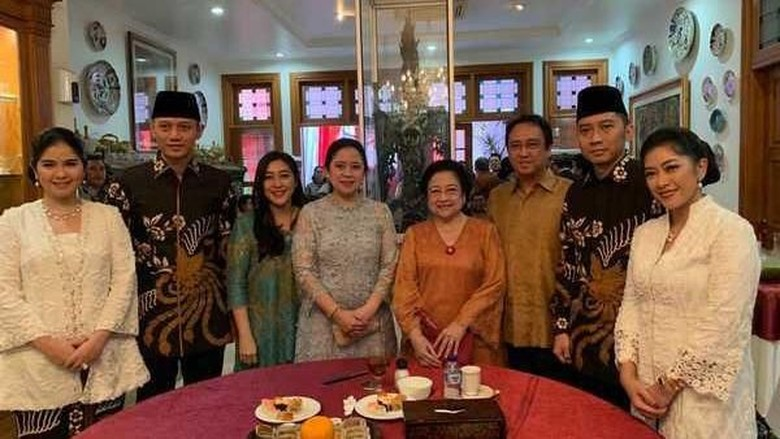 Silaturahmi AHY Dianggap Memutus Sejarah Ketegangan Megawati-SBY