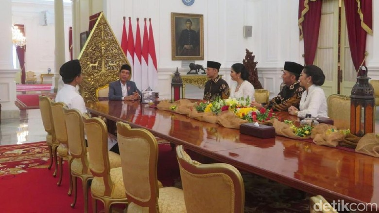AHY-Ibas Lebaran ke Jokowi-Mega, PD: Ini Pertanda Baik Silaturahmi Politik
