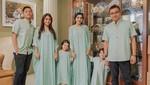 Gaya Lebaran Para Selebriti hingga Krisdayanti Bagi-bagi THR