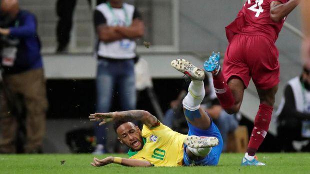 Neymar gagal memperkuat timnas Brasil di Copa America 2019.