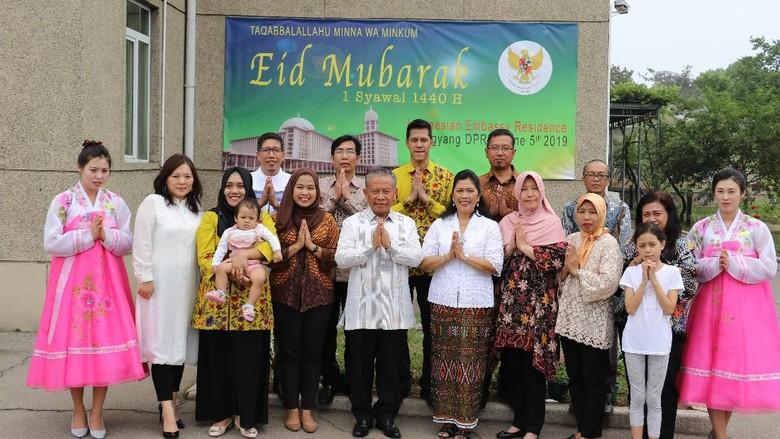 Rayakan Idul Fitri di Korut, KBRI Pyongyang Promosikan Kuliner Khas Indonesia