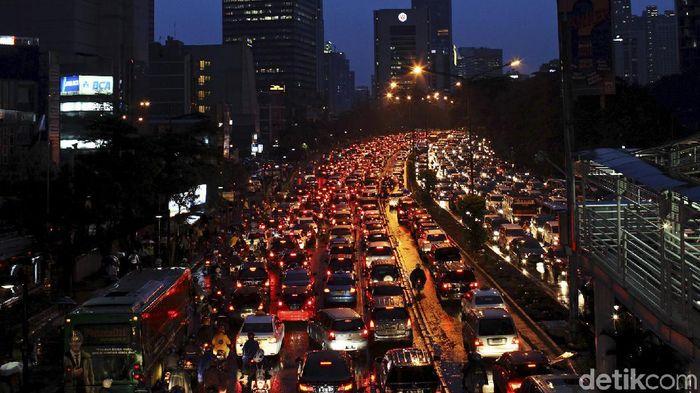 Ilustrasi Jakarta/Foto: Beawiharta/REUTERS