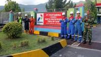 Satgas RAFI merupakan satuan tugas khusus yang dibentuk untuk mengantisipasi adanya peningkatan kebutuhan energi serta memantau ketersediaan BBM dan LPG se-Sulawesi selama periode 2 minggu sebelum dan setelah hari raya. Istimewa/Pertamina.