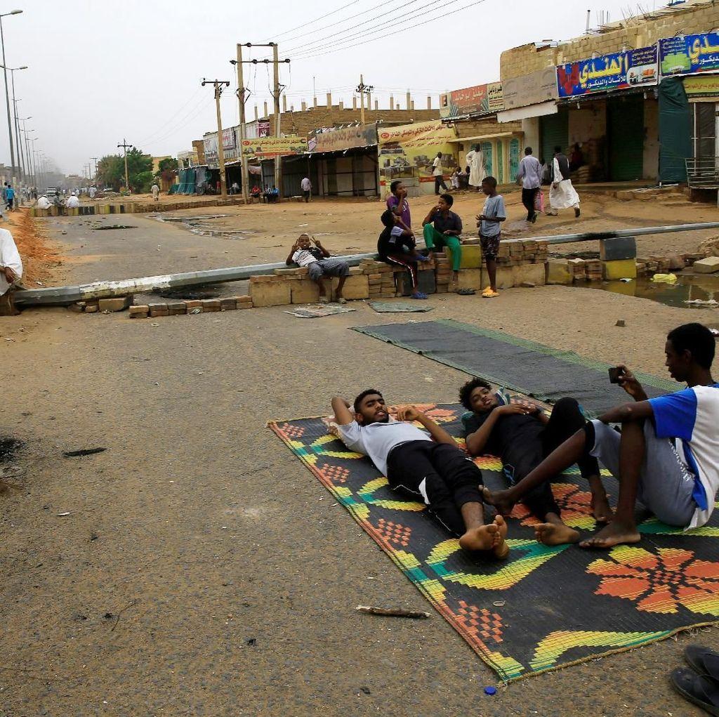 Kementerian Kesehatan Sudan: Jumlah Tewas Aksi Pembubaran Paksa 46 Orang