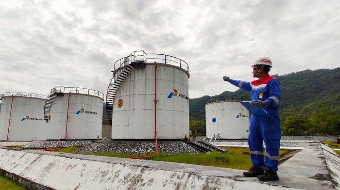 Pegawai Pertamina di pulau terluar tetap kerja meski libur Lebaran/Foto: Dok. PT Pertamina (Persero)