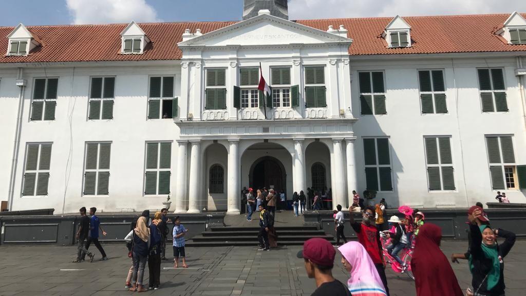 Menikmati Pesona Jakarta Tempo Dulu di Kota Tua