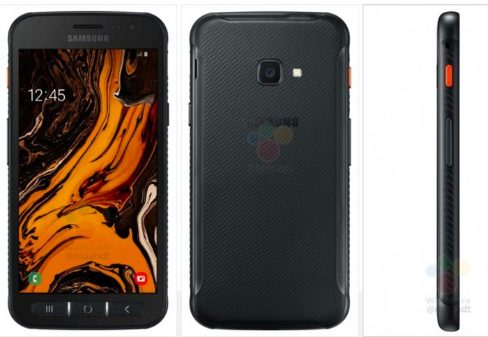 Samsung Xcover 4S. Foto: istimewa