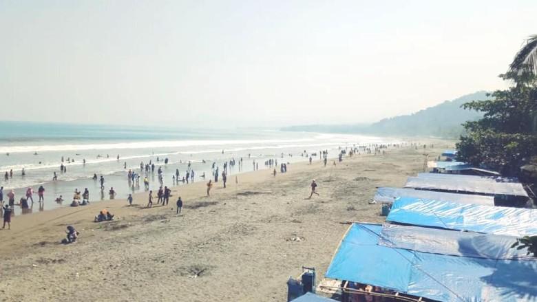 2 WNA Yaman Nyaris Tenggelam di Pantai Palabuhanratu Sukabumi