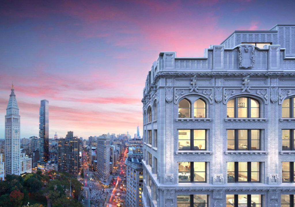Di bangunan apartemen mewah yang berlokasi di Manhattan inilah, Jeff Bezos membeli 3 unit apartemen berharga total sekitar USD 80 juta. Foto: Street Easy