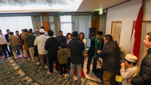 Hangatnya Perayaan Idul Fitri WNI di Caberra di Tengah Musim Dingin