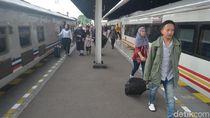 Pemudik Kereta di Wilayah 3 Cirebon Meningkat dari Tahun Lalu