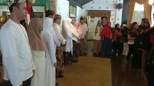 Gelar Open House, Sultan Cirebon Doakan Indonesia Selalu Damai