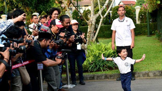 Jan Ethes Sampai La Lembah Manah, Ini Arti Nama 3 Cucu Jokowi
