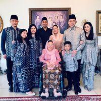 Silaturahmi AHY-Ibas ke kediaman keluarga Gus Dur